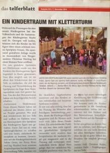 Spielplatz Kindergarten Egart/Telfs